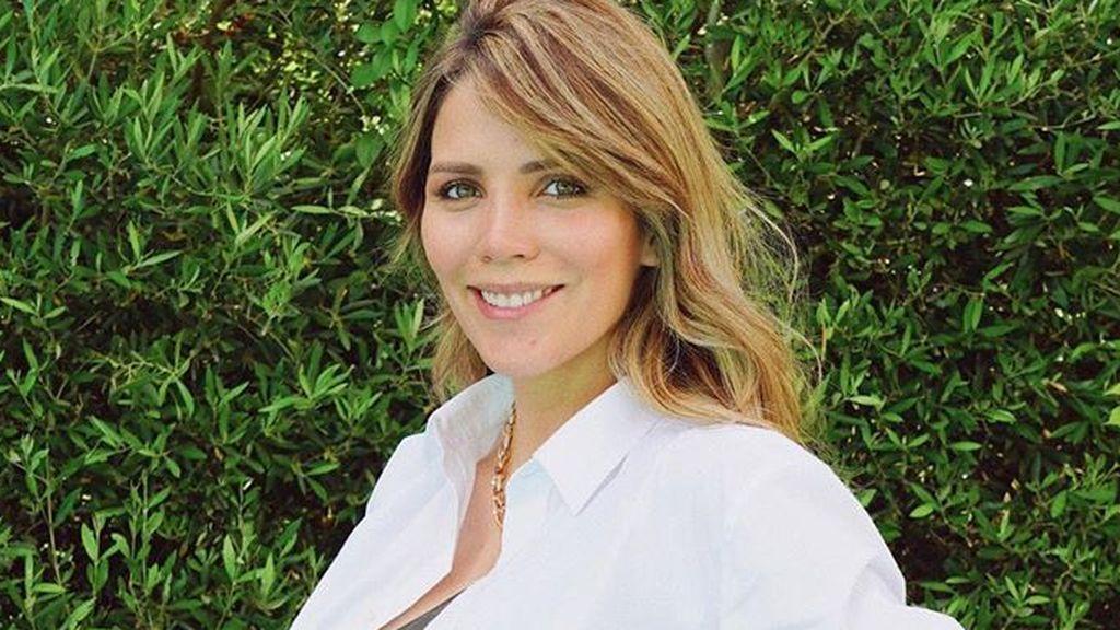 """Rosanna Zanetti, impresionada por el tamaño de su tripa en el quinto mes de embarazo: """"Va más grande que la de Matteo"""""""