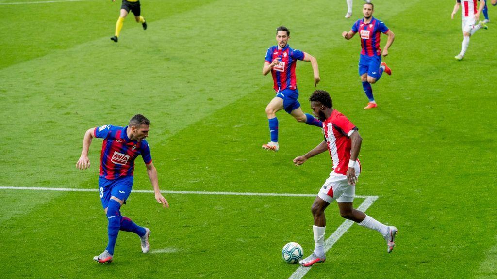 (2-2) Empate en el derbi vasco: Al Athletic no le sirve para llegar a Europa y al Eibar para la salvación