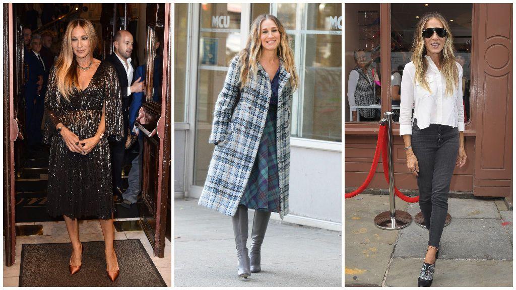 En el armario de la actriz nunca puede faltar el 'brilli brilli', los abrigos, las camisas y los tacones altos.