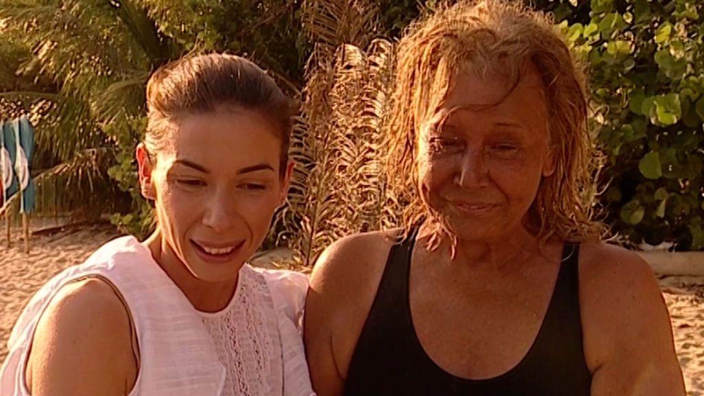 Alba Santana y Mila Ximénez