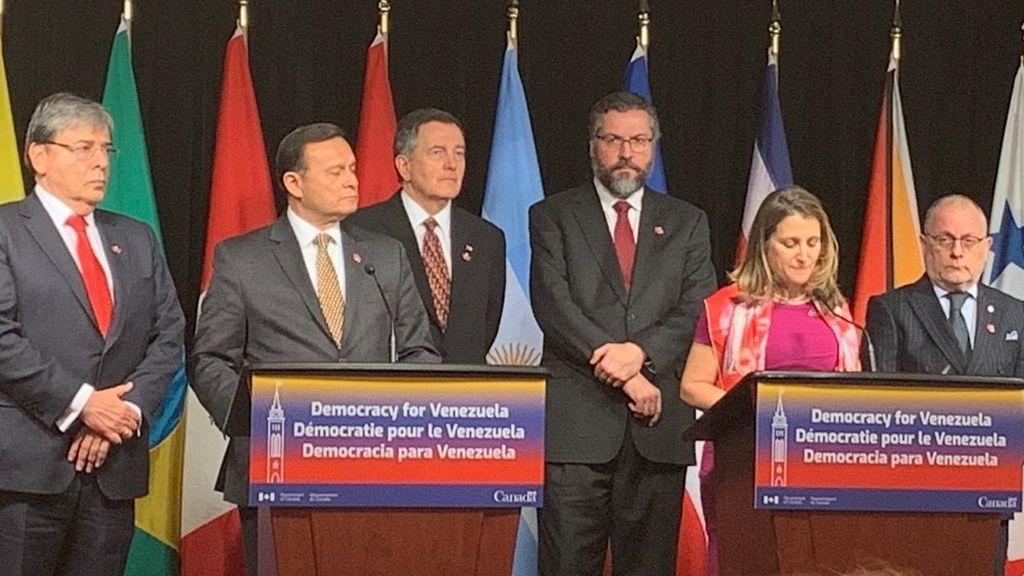 """El Grupo de Lima califica de """"ilegal"""" la designación del nuevo Consejo Electoral en Venezuela"""