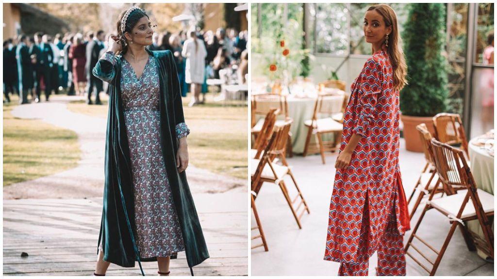 Vestidos con capas para bodas: ideas para invitadas elegantes.