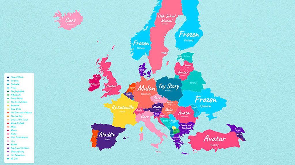 Disney Favourites Europe
