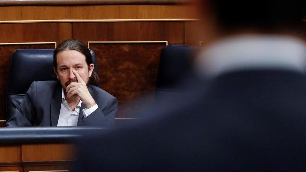 Rifirrafe entre el vicepresidente Iglesias y el secretario general del PP, García Egea