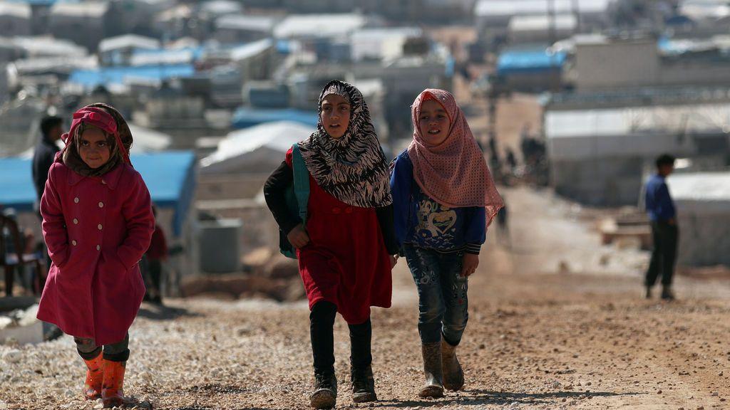 Récord de refugiados y desplazados en el mundo: 79,5 millones, según ACNUR