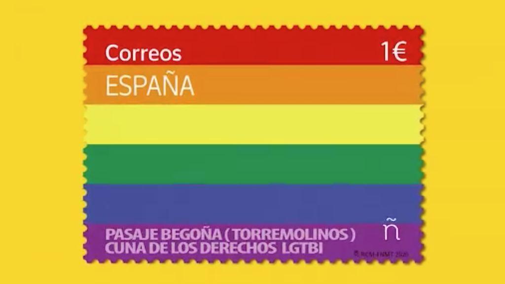 Filatelia y Orgullo: Correos hace historia lanzando su primer sello LGTBI