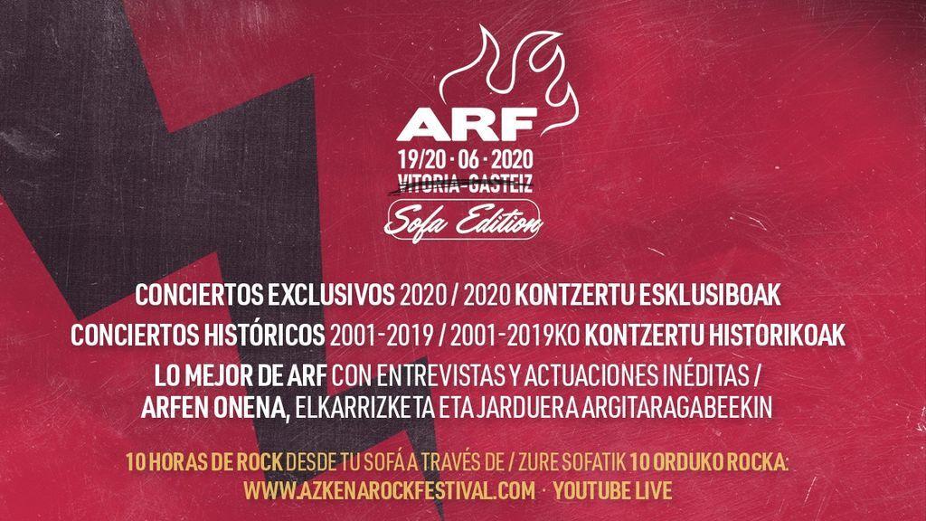 Conciertos desde el sofá: El festival Azkena Rock se realizará en formato 'online'