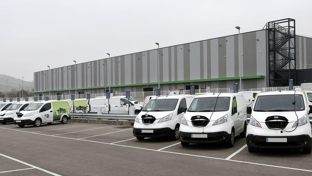 Apuesta eléctrica de Amazon: encarga 140  eVito a Mercedes que se harán en Vitoria