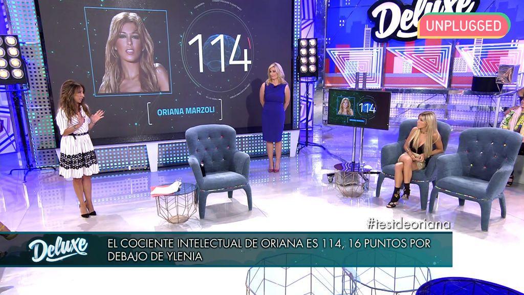 Oriana Marzoli en 'Sábado Deluxe'