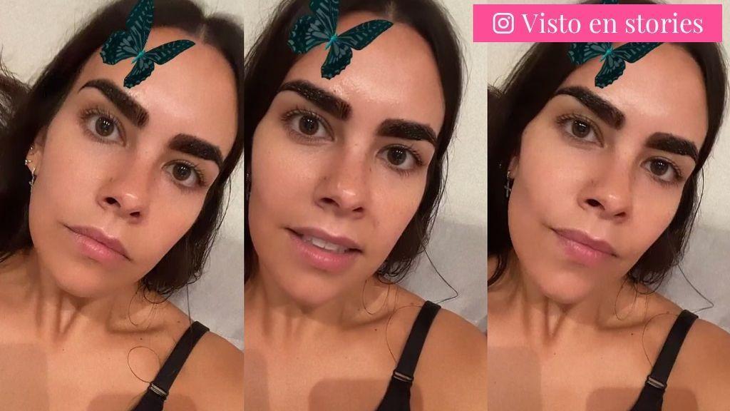 Las cejas teñidas de Cristina Pedroche