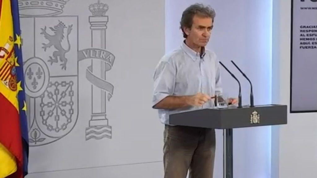 """Fernando Simón: """"Tenemos alrededor de 28.000 fallecidos, este viernes daremos datos más fiables y seguros"""""""