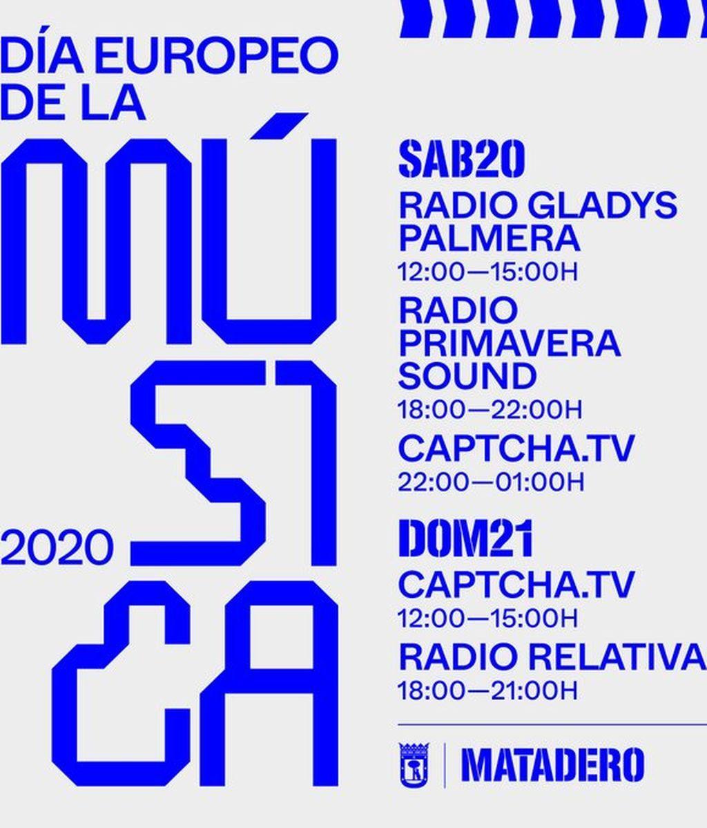 Programación Matadero Madrid Día Europeo de la Música