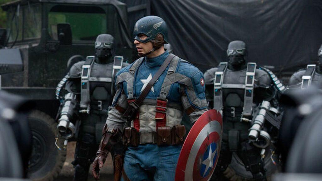 Fotograma de la película 'Capitán América: El primer venhador'