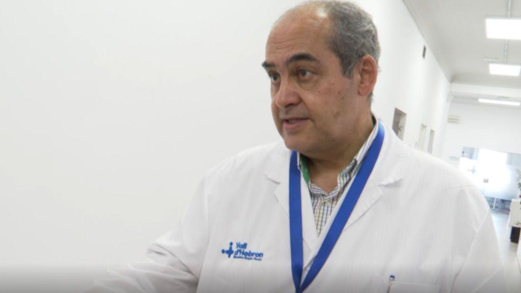 """Benito Almirante, médico: """"Los resultados con dexametasona son prometedores pero faltan datos para adminstrarla"""""""