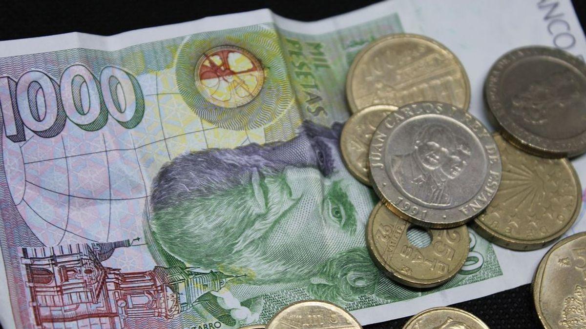Sigue habiendo 1.610 millones de euros en pesetas sin cambiar y ya solo quedan seis meses para hacerlo