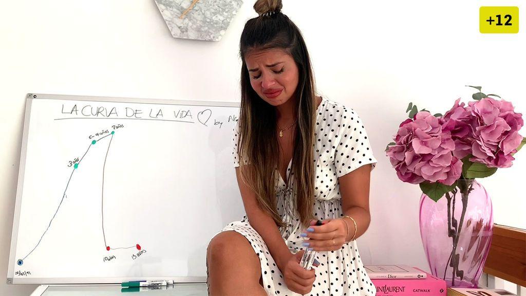 Natalia Osona se rompe al hacer su curva de la vida y recordar su duro pasado (1/2)
