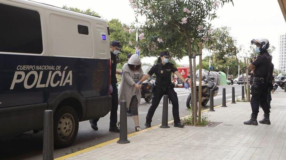 La detenida por matar a su marido en Godelleta, ante el juez