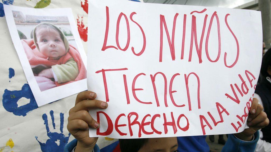 Cadena perpetúa en Colombia para asesinos y violadores de menores
