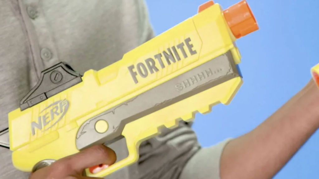 Jugar a Fortnite en la vida real con tus amigos: con Nerf es posible