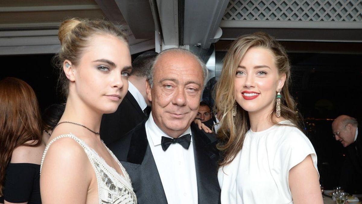 Cara Delevingne y Amber Heard, en el Festival de Cannes