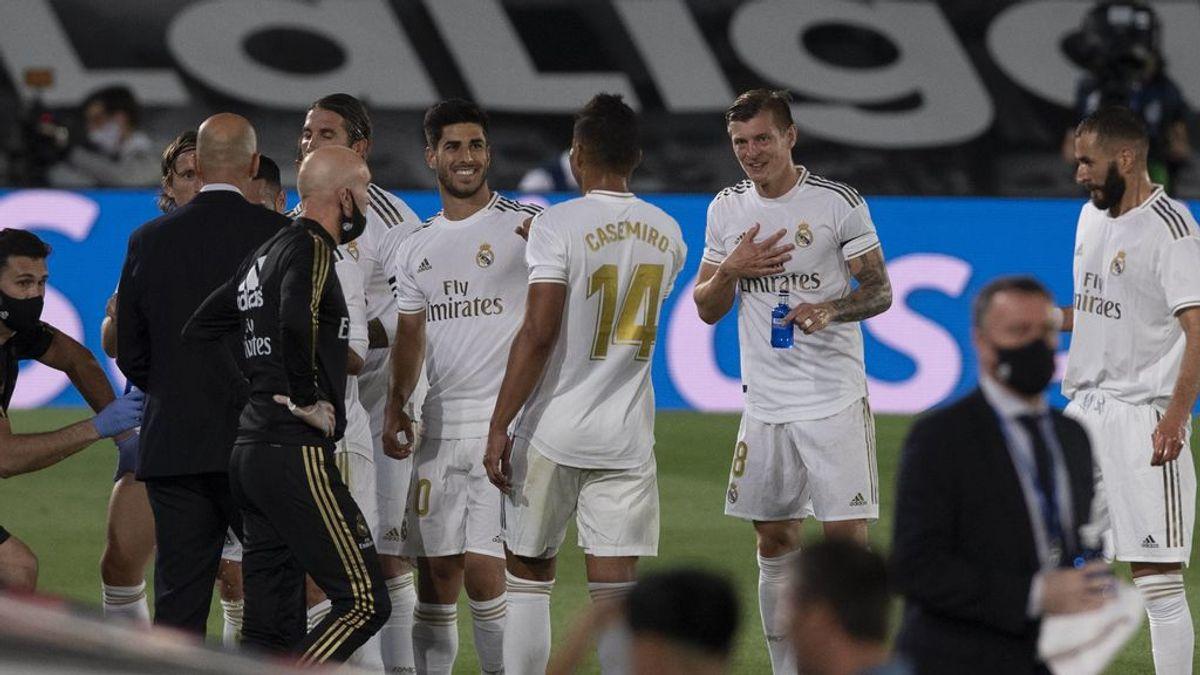 La bronca de Zidane tuvo efecto: los jugadores cambiaron de dinámica ante el Valencia y se tomaron la regañina como motivación