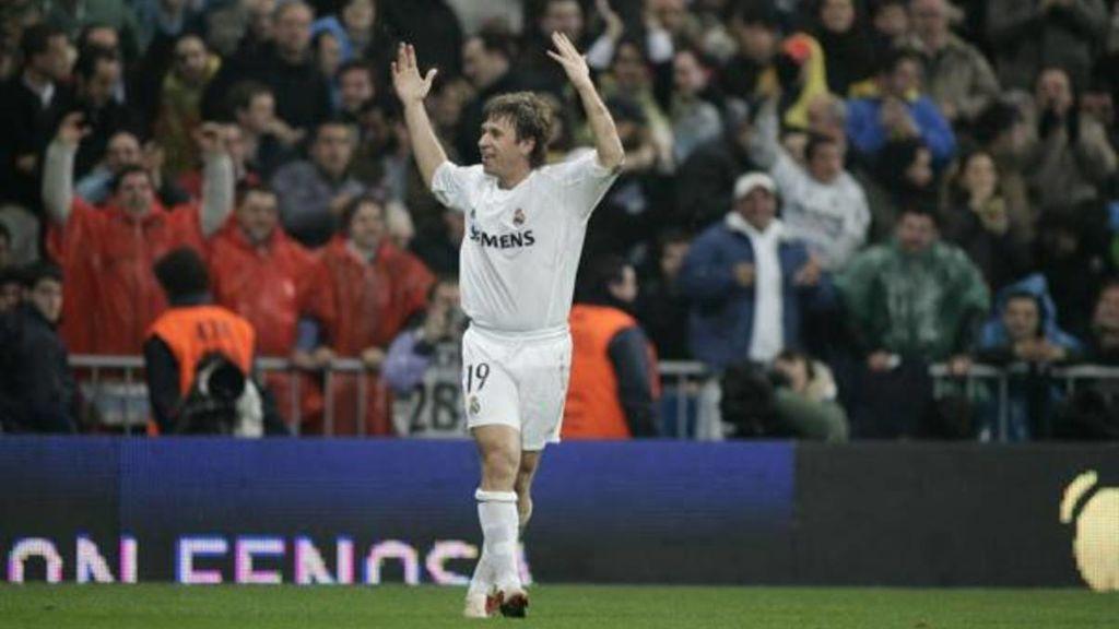 Cassano en su etapa en el Madrid