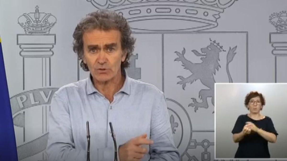 Illa reconoce nueve rebrotes en España y Simón eleva la cifra de muertos a 28.313 personas, 1.117 más que hasta ahora