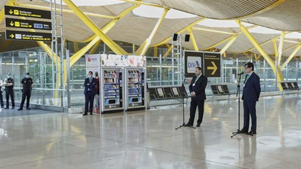 Los aeropuertos españoles prevén recibir 100 vuelos este domingo