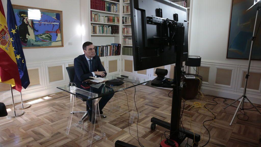 EuropaPress_2716701_presidente_gobierno_pedro_sanchez_preside_videoconferencia_reunion