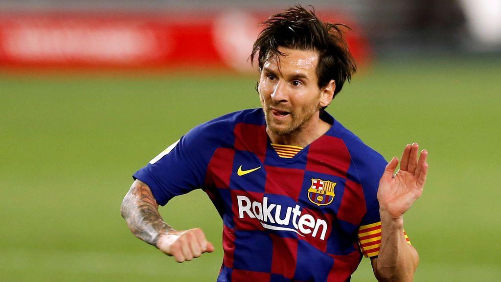 Messi se saltó el protocolo sanitario de La Liga al terminar el partido del Barça en Sevilla
