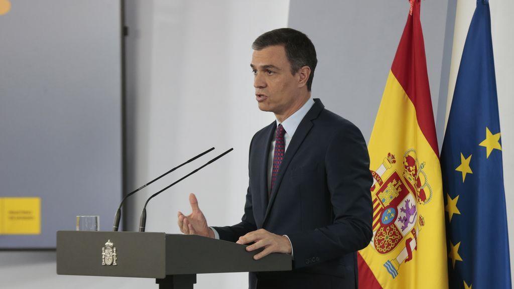 Sánchez advierte de que puede haber una nueva ola del virus y pide mantener la guardia alta