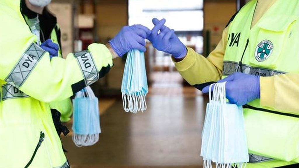 Intervienen 19.000 mascarillas con el certificado de calidad falsificado en Barcelona
