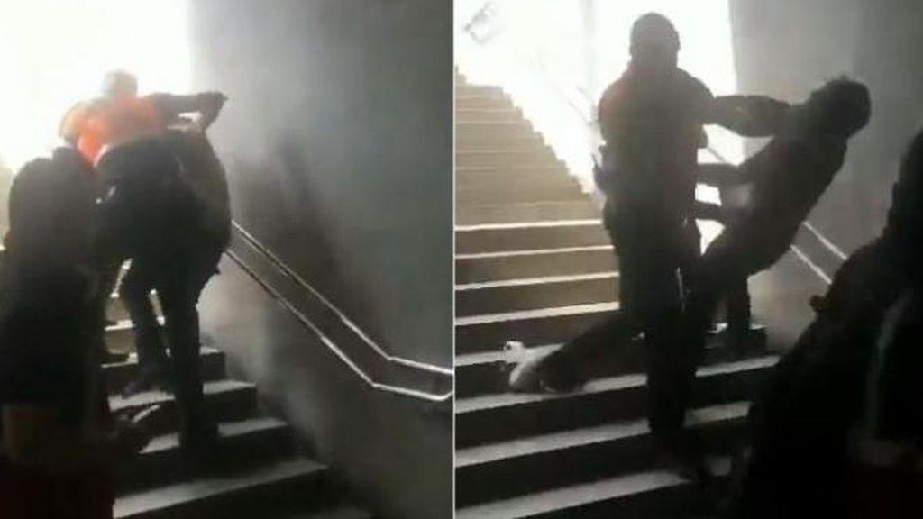 Investigan la agresión de dos vigilantes del metro de Barcelona a una persona sin mascarilla