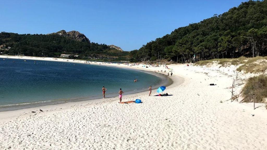 Playa de Rodas, en las islas Cíes