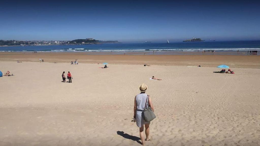 Playa de El Puntal, en Cantabria