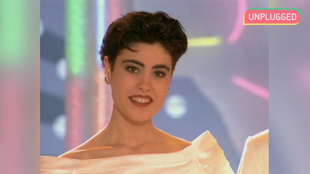 Isabel Rábago en 'Miss España'
