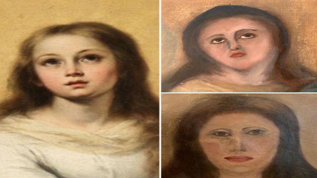 El nuevo Ecce Homo, en las Inmaculadas de Murillo: alertan de una desastrosa restauración en Valencia