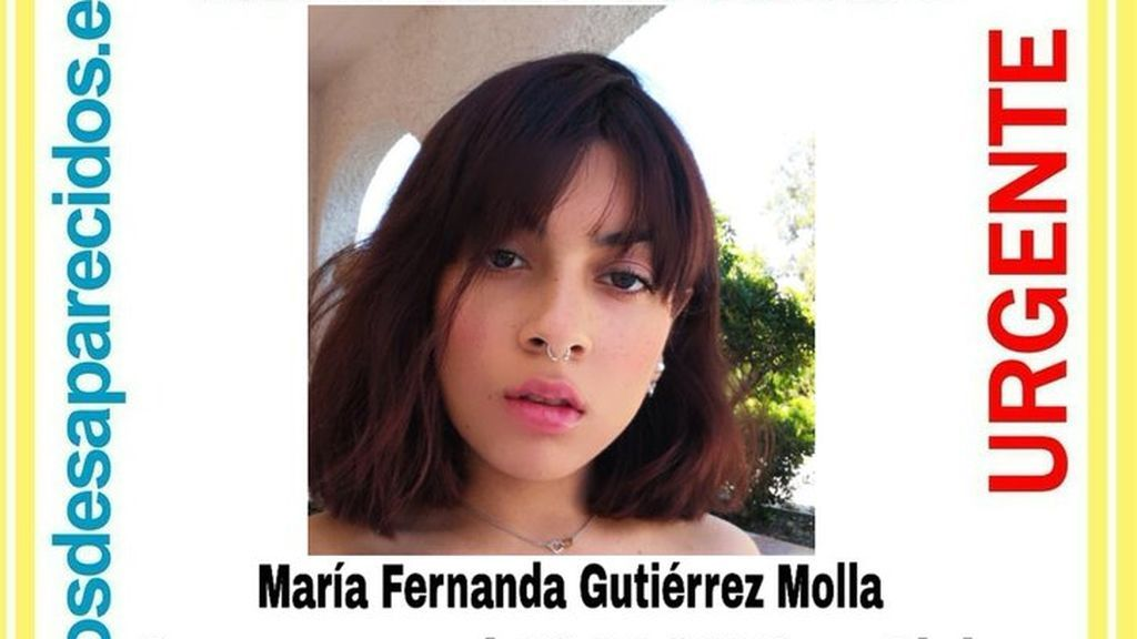 Buscan a María Fernanda, una menor de 17 años desaparecida desde el día 18 en Elche