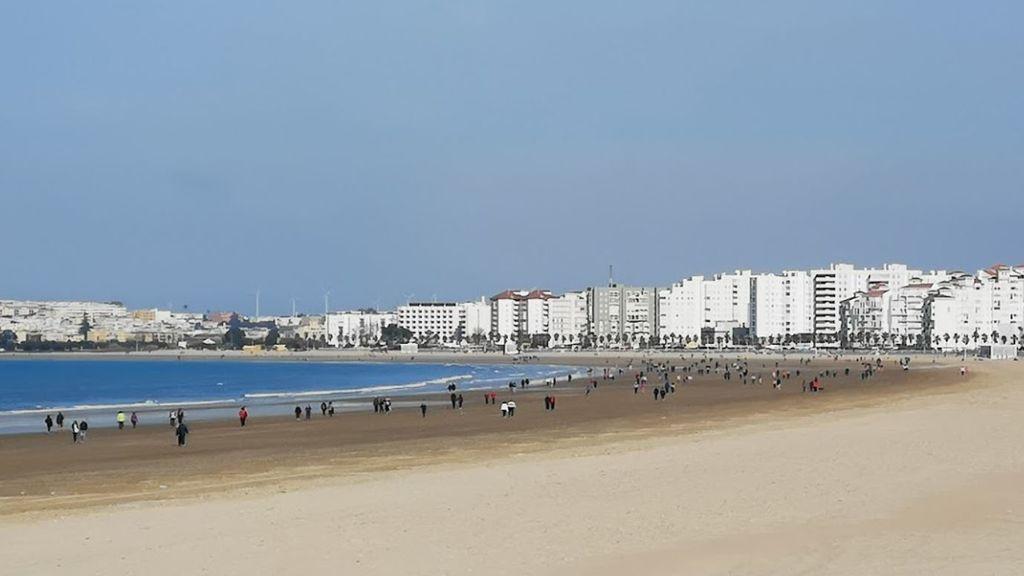 Playa de Levante/Los Toruños en El Puerto de Santa María (Cádiz)