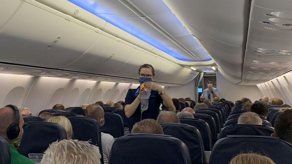 Llegan los primeros vuelos a España