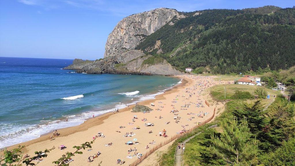 Playa de Laga en Vizcaya