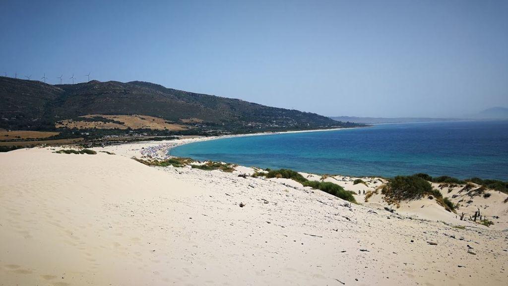 Playa de Punta Paloma en Tarifa (Cádiz)