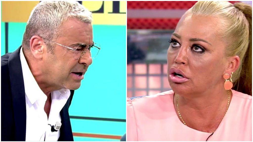 Jorge Javier Vázquez abandona el plató tras un fuerte enfrentamiento con Belén Esteban