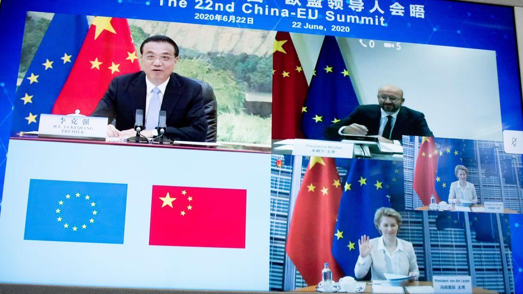 Europa intenta calmar la creciente tensión con China