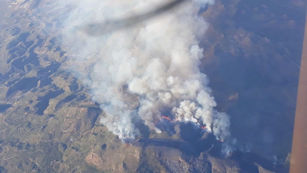 La regla del 30: el cóctel que hace muy inflamable el terreno y desata incendios como el de Mojácar