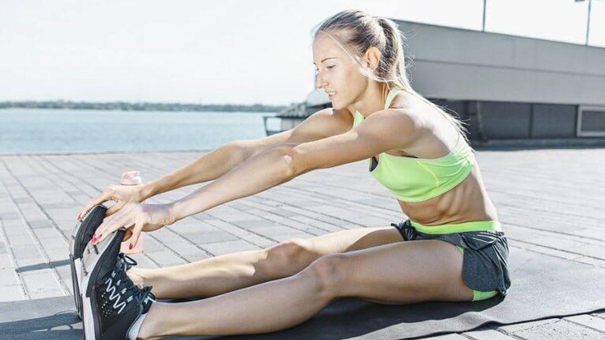 Estiramientos al hacer ejercicio