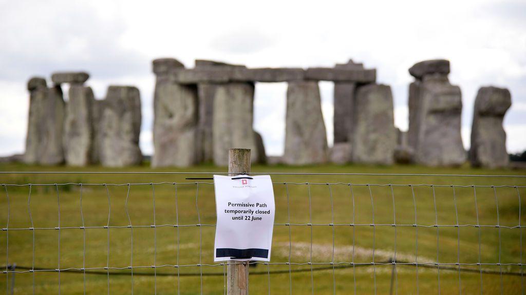 Descubren un anillo prehistórico cerca de Stonehenge