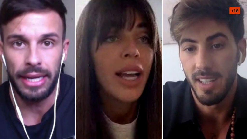 Duda LGTBIQ, consejos para ser influencer y ligar con chicas: Steisy, Fabio y Miguel Frigenti responden (2/2)