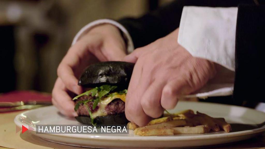 hamburguesa negra
