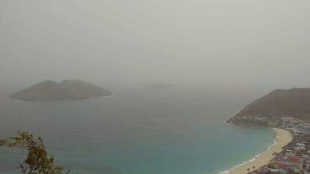 Cielo calimoso al otro lado del charco: el polvo del Sáhara desembarca en el Caribe